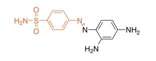Молекулярная структура Пронтозила